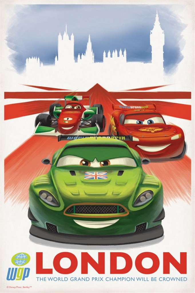 Cars 2 (Pixar - Londres)