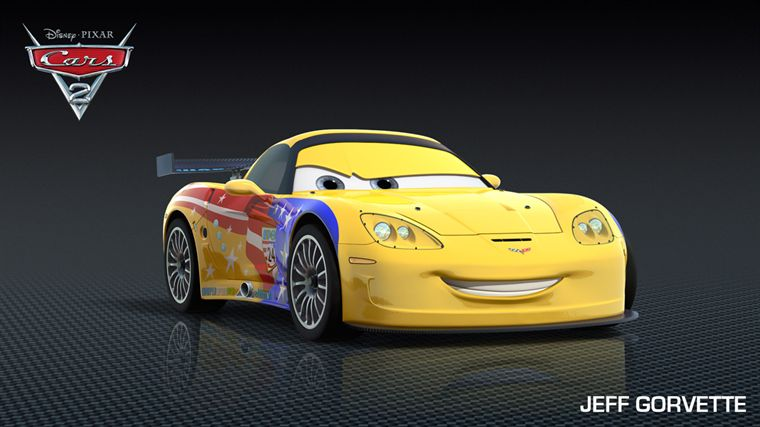 Jeff Gorvette (Cars 2 - Pixar)