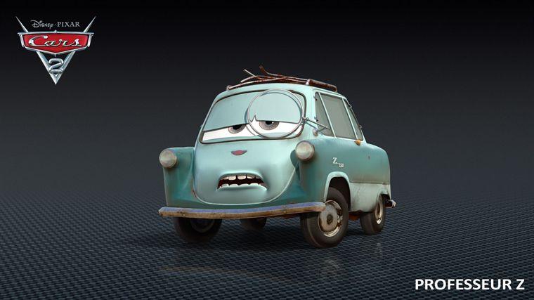 Professeur Zündapp (Pixar - Cars 2)