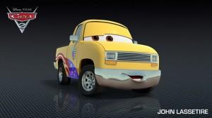 John Lassetire vient du nom du réalisateur John Lasseter (Pixar - Cars 2)