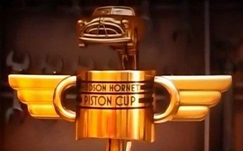 La Piston Cup est rebaptisée la Hudson Hornet Cup (Cars 2 - Pixar)