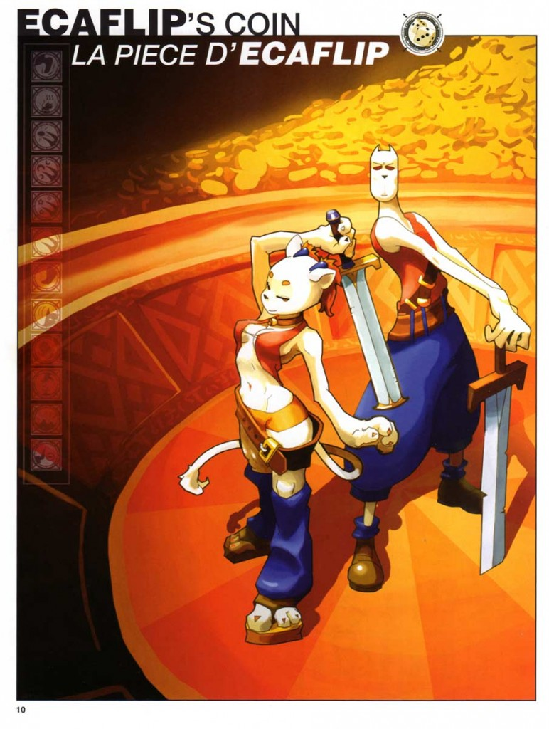Page 10 du Dofus Art Book : Session 1