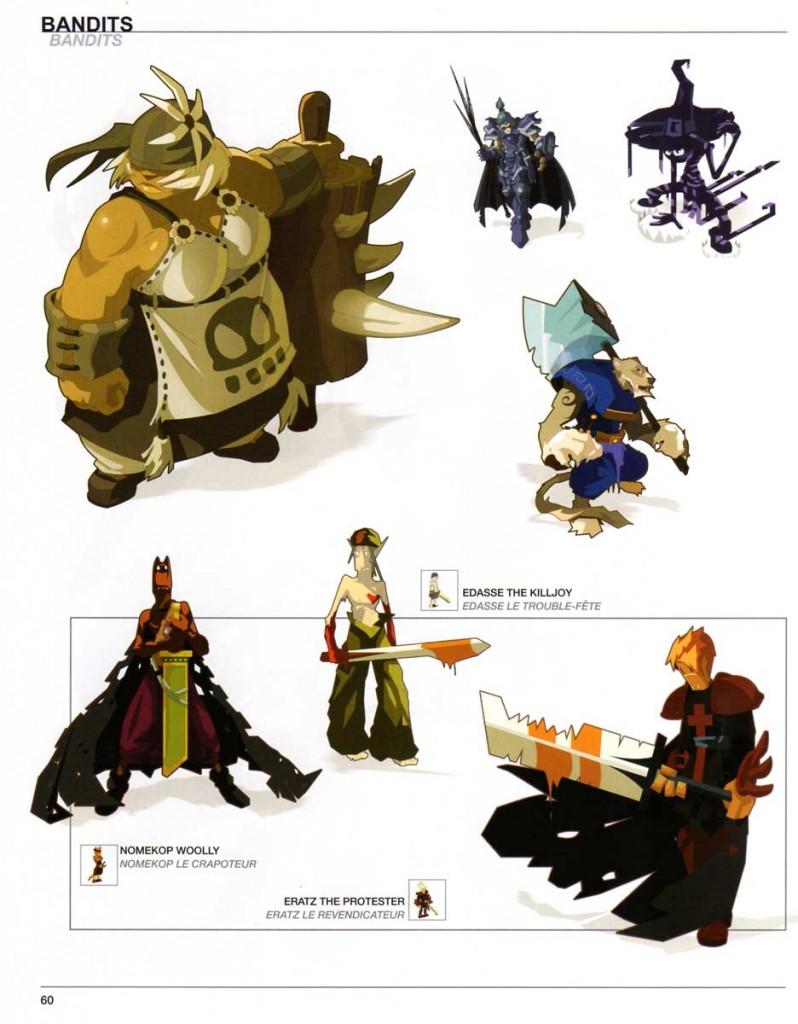 Page 60 du Dofus Art Book : Session 1