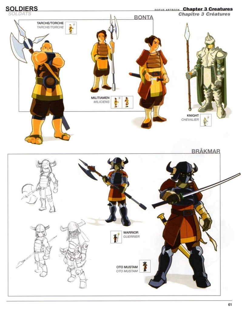 Page 61 du Dofus Art Book : Session 1