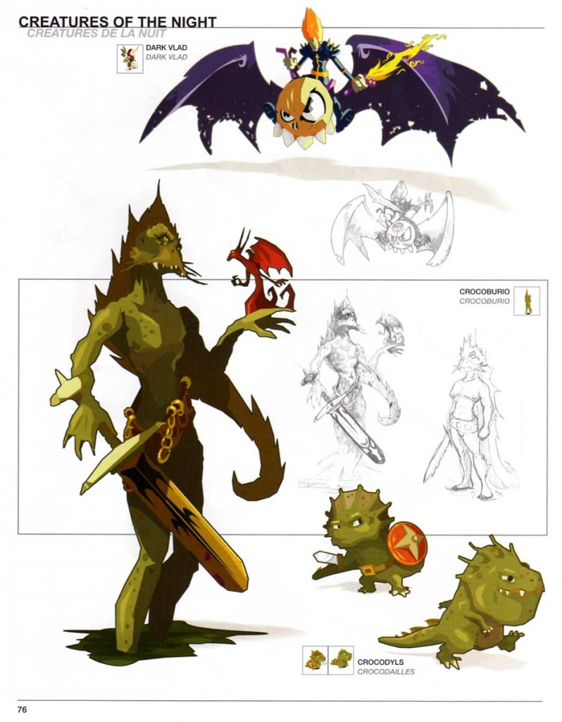Page 76 du Dofus Art Book : Session 1