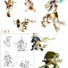 Page 77 du Dofus Art Book : Session 1