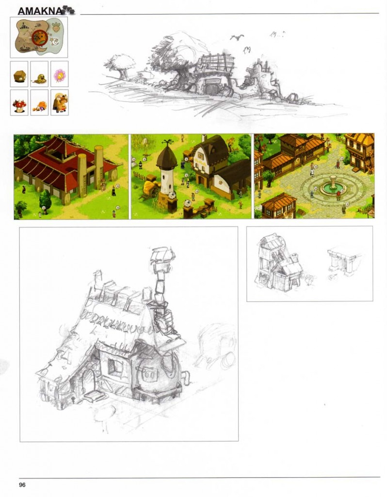 Page 96 du Dofus Art Book : Session 1