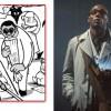 l'homme aux lunettes noires est un caricature du personnage Ford Prefect tiré du film H2G2 : le Guide du voyageur galactique
