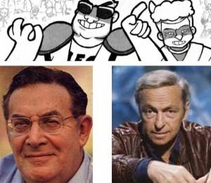 Guy Trux et Léon Zitrool sont des caricatures de Guy Lux et Léon Zitrone