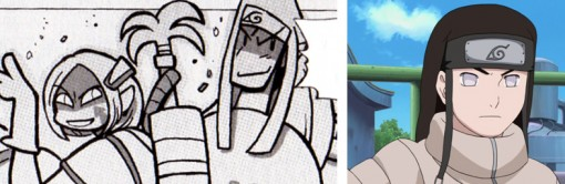 le crâ a un bandeau tiré de Naruto. Il s'agit de l'emblème du village de Konoha.