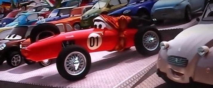 La mère de Francesco Bernoulli (Cars - Pixar)