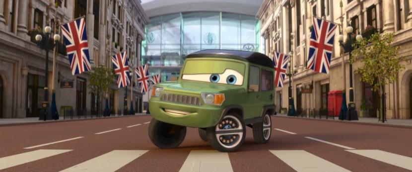 Miles Axlerod (Pixar - Cars)