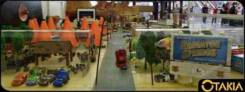 Diorama Radiator Springs par Sam Bricole