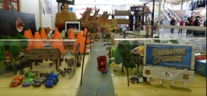 Diorama Radiator Springs par Sam Bricole (Pixar - Cars)