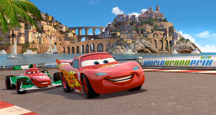 Flash Macqueen dans Cars 2