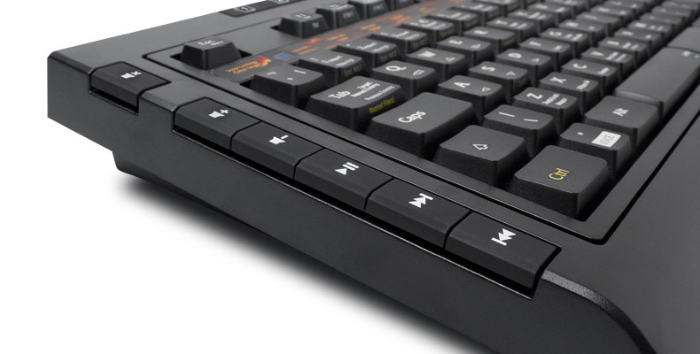 Détail du clavier World of Warcraft SteelSeries