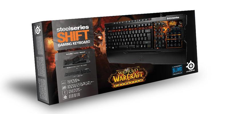 Boite du clavier SteelSeries World of Warcraft