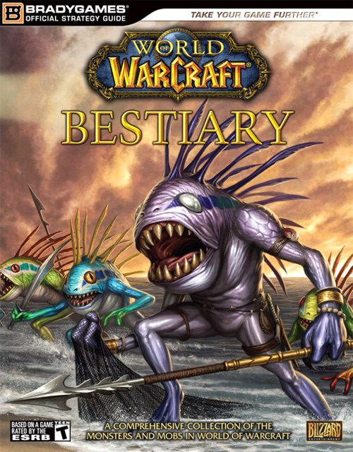 Guide Bradygames bestiaire World of Warcraft
