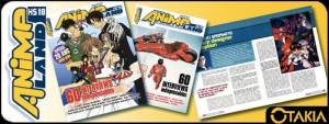 Animeland HS18 - couverture Clamp et Akira