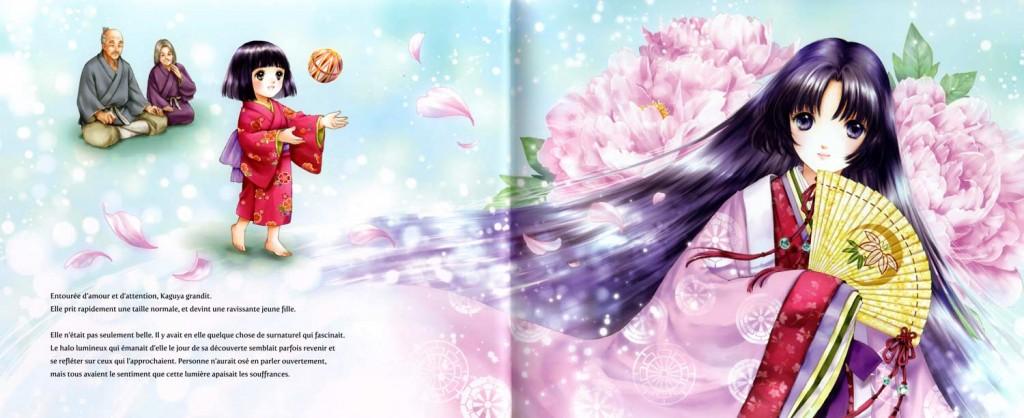 Extrait du livre pour enfant Kaguya, la Princesse au clair de Lune (nobi nobi !)
