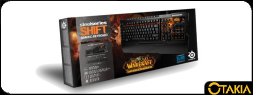 Header Otakia du clavier SteelSeries World of Warcraft