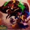 Tapis de souris Compad World of Warcraft Elfe de sang vs draenei