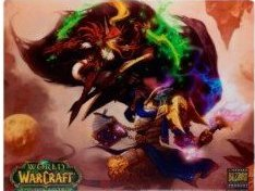 Tapis de souris Compad World of Warcraft Elfe de sang vs draenei