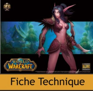 Tapis de souris Compad World of Warcraft