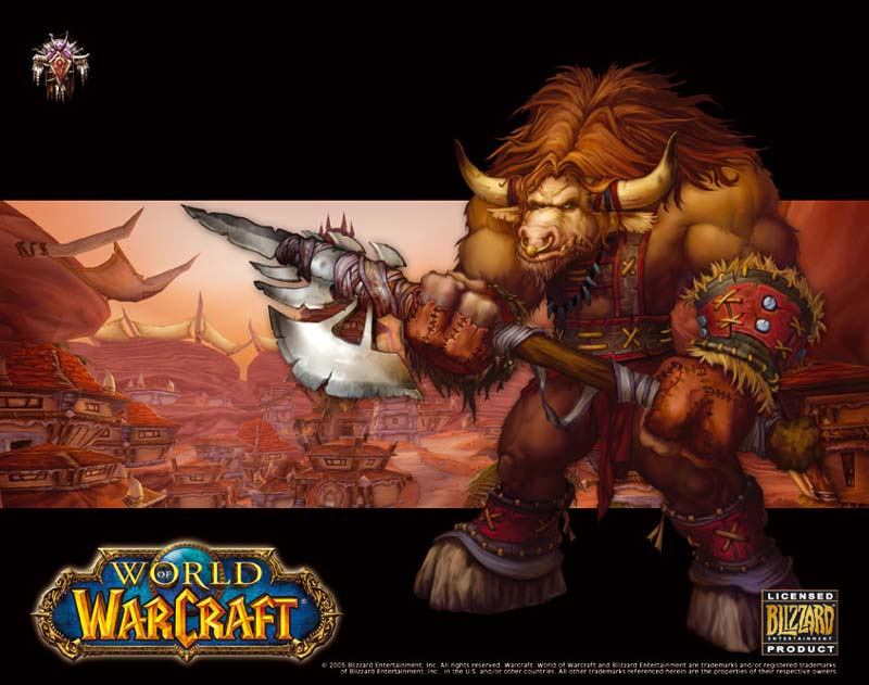 Tapis de souris Compad World of Warcraft Tauren