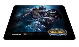 Tapis de souris World of Warcraft avec le roi liche (Arthas)