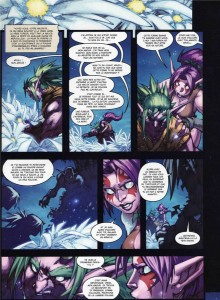 Page 1 du tome 2 de la malédiction des worgens