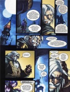 Page 2 du tome 2 de la malédiction des worgens