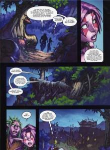 Page 3 du tome 2 de la malédiction des worgens