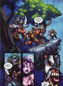 Page 4 du tome 2 de la malédiction des worgens