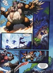 Page 5 du tome 2 de la malédiction des worgens