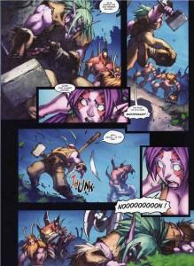 Page 6 du tome 2 de la malédiction des worgens