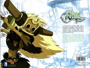 Wakfu : Art book Tome 6 (dos de la couverture)