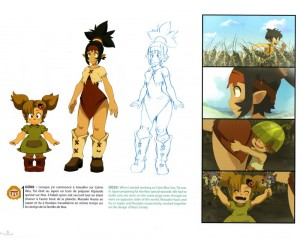 La famille de Nox est présentée (Wakfu : Art book Tome 6)