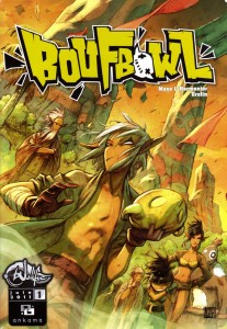 Boufbowl tome 1 (Couverture du comics)