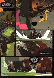 Page 1 du comics Boufbowl N°1