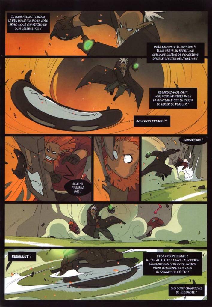 Page 3 du comics Boufbowl N°1