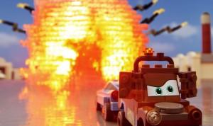 Trailer Cars 2 en Lego par Patrick Boivin