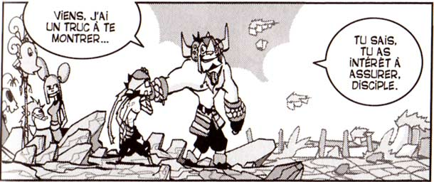 Bengr a pris Pym comme disciple (Dofus Arena Tome 3)