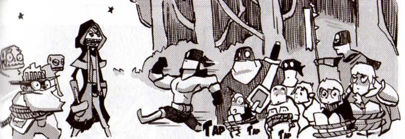 Le Magicateur fait en sorte de se faire capturer par Senestre (Dofus Arena Tome 3)