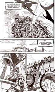 Page 1 du tome 3 de Dofus Arena