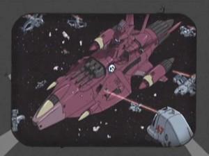 Le vaisseau de Kei Yuki est tombé dans un piège (Herlock, Endless Odyssey)