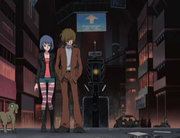 Nana est la petite amie de Tadashi (Herlock, Endless Odyssey)