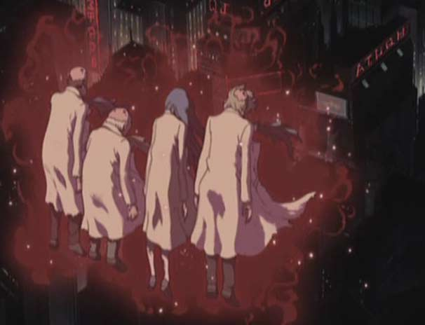 Les Zombies sont censés avoir déjà vu Albator après le meurtre du professeur Daiba (Herlock, Endless Odyssey)