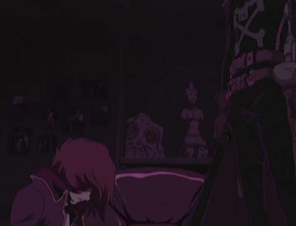 Tadashi pleure sur le cadavre de son père (Herlock, Endless Odyssey)