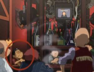 Leiji Matsumoto est présent dans le bar (Herlock, Endless Odyssey)